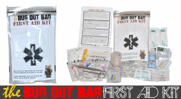 The Bug Out Bag First Aid Kit and Then Some