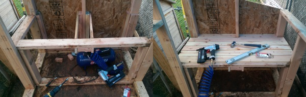 Chicken Coop OSB Walls 600