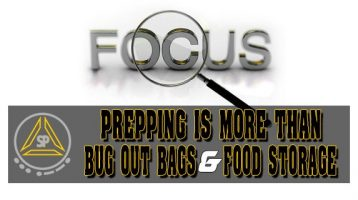 Prepping is More Than Bug Out Bags and Food Storage