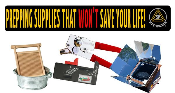 Prepping Supplies That Won't Save Your Life… But Will Make It A lot Easier