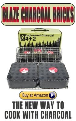 Blaze Charcoal Bricks
