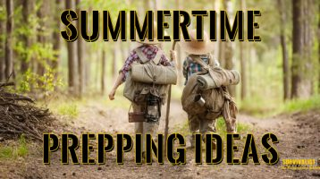 Spring and Summer Prepping Ideas