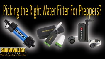 What's the Right Water Filter For Preppers?