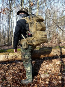 Bug out bag and get home bag