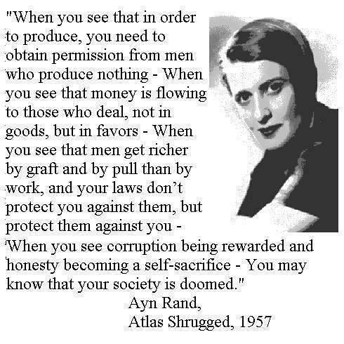 Atlas Shrugged. Ayn Rand. SIGNED!!1 10th Anniversary Edition. LTD. #911/2K.