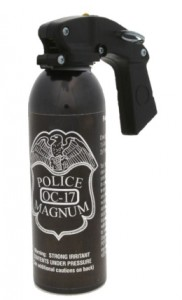 POLICE MAGNUM 16 oz. Pistol Grip Pepper Spray