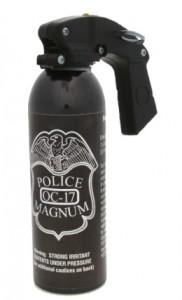 POLICE MAGNUM 16 oz. Pistol Grip Pepper Spray