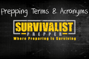 Prepping Terms And Acronyms