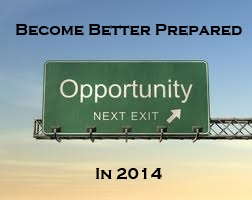 Become Better Prepared in 2014