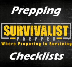 The Only Prepping Supply List You Need and More Downloads