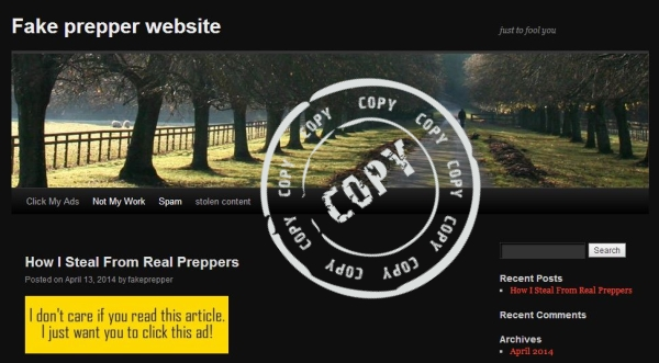 Picking the Right Prepper Website
