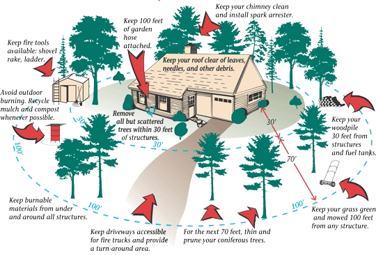 How To Protect Your Home From Wildfires Survivalist Prepper