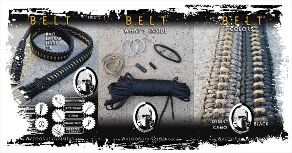 Surviving Mondays 012 The Prepinstein Paracord Belt