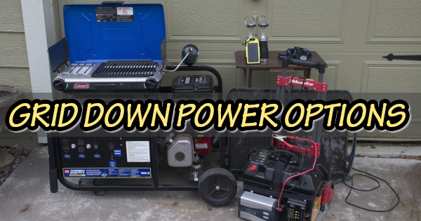 Grid Down Energy Options For SHTF & Today