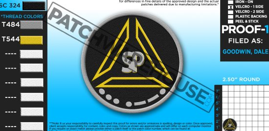 Preparedness Triangle patch