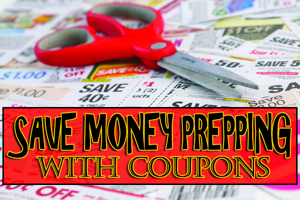 Saving Money Prepping with Coupons