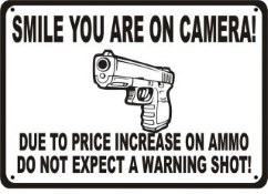 you are on camera gun owner