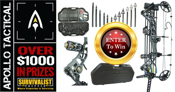 Apollo-Tactical Compound Bow Giveaway & Review
