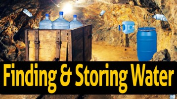 Finding and Storing Water for Preppers