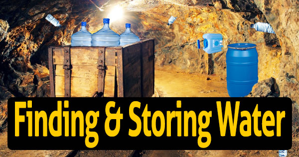 Finding and Storing Water for Preppers & Finding and Storing Water for Preppers | Easy Solutions