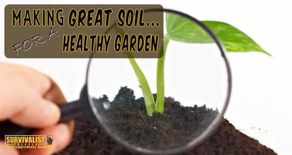 Making Great Soil for a Healthy Garden
