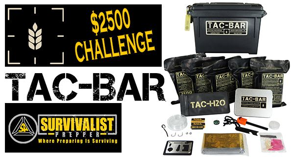 Survivalist Prepper Exclusive Huge Tac-Bar Giveaway From Expedition Research
