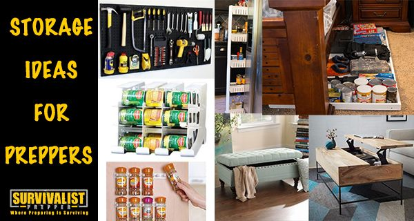 Organization and Storage Ideas for Preppers