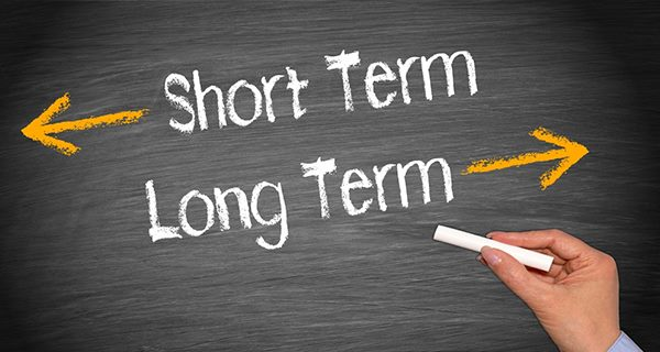 long term is a short term solution