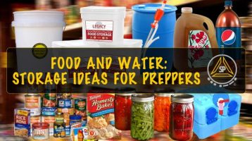 Long Term Food & Water Storage Ideas for Preppers