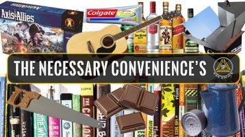 The Necessary Convenience's for Preppers