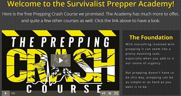 free prepping crash course