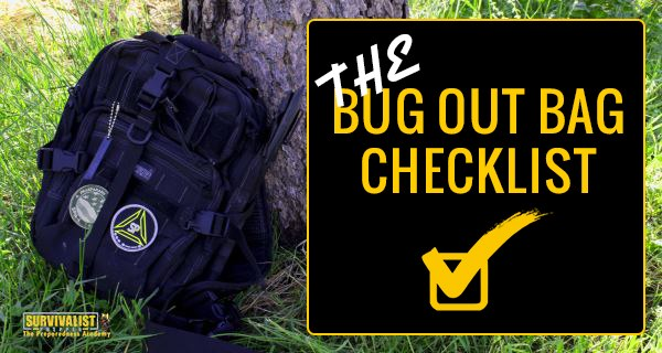 Bug-Out-Bag-Checklist AND PREPPER GEAR