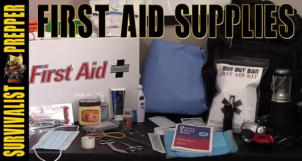first aid for preppers