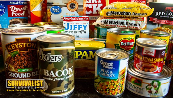 The Best Survival Food: Canned Food and Pantry Food Shelf Life