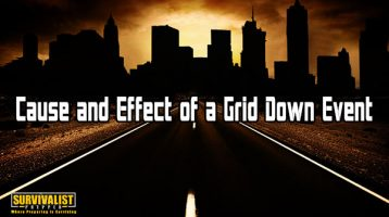 Cause and Effect of a Grid Down Event