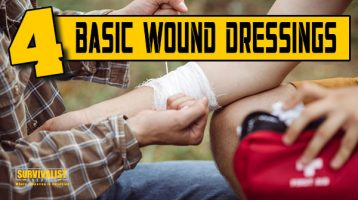 Prepper First Aid: How To Dress a Wound