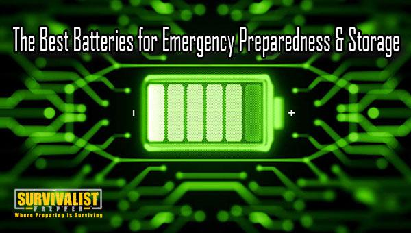 The Best Batteries for Emergency Preparedness & Storage